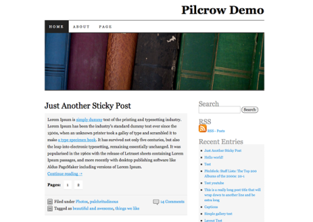 Pilcrow Screenshot