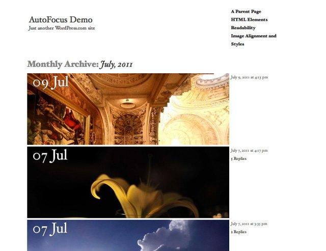 AutoFocus Archive View