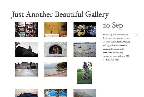Galleries in AutoFocus