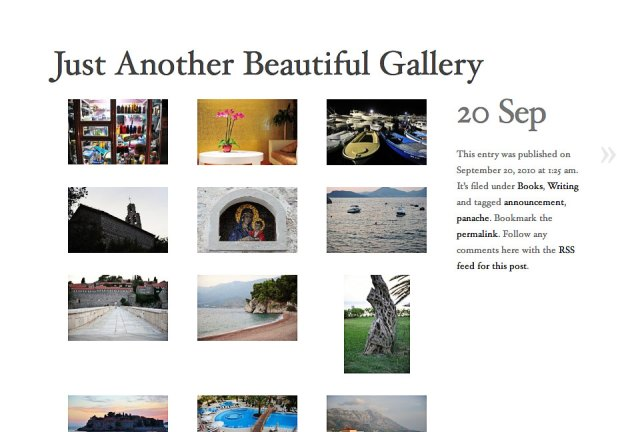 Galleries in AutoFocus