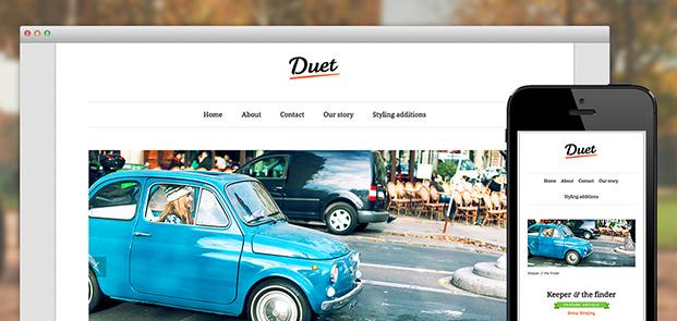 Screenshots of Duet