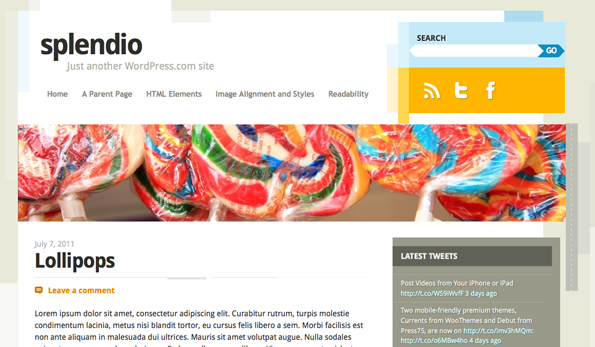 Example of a Post with a Featured Header Image