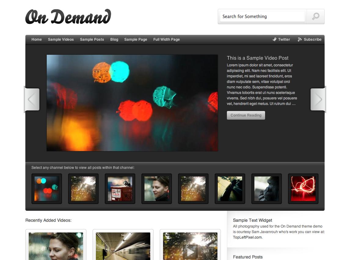 On Demand Theme — WordPress.com