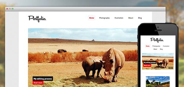 Portfolio screenshots