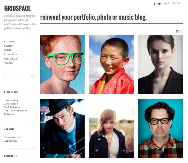 Gridspace WordPress Theme