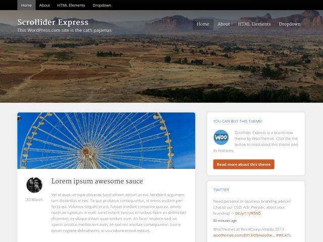 scrollider-express