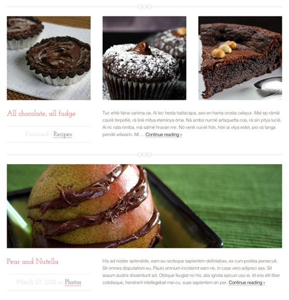 Just Desserts Front Page Images