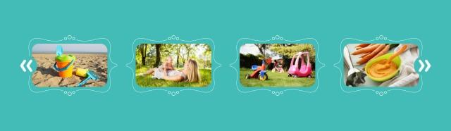 Nurture: Homepage Image Carousel