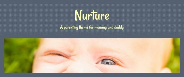 Nurture: Custom Header Image
