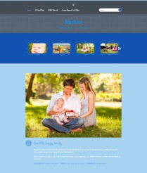 "Nurture: Homepage ""It's a Boy!"" Color"