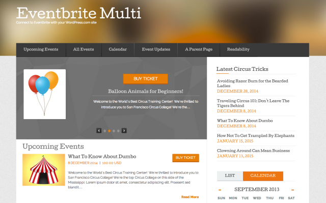 Eventbrite Multi