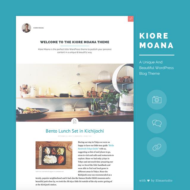 Kiore Moana WordPress Theme