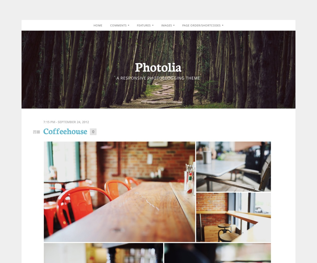 Photolia Theme by UpThemes