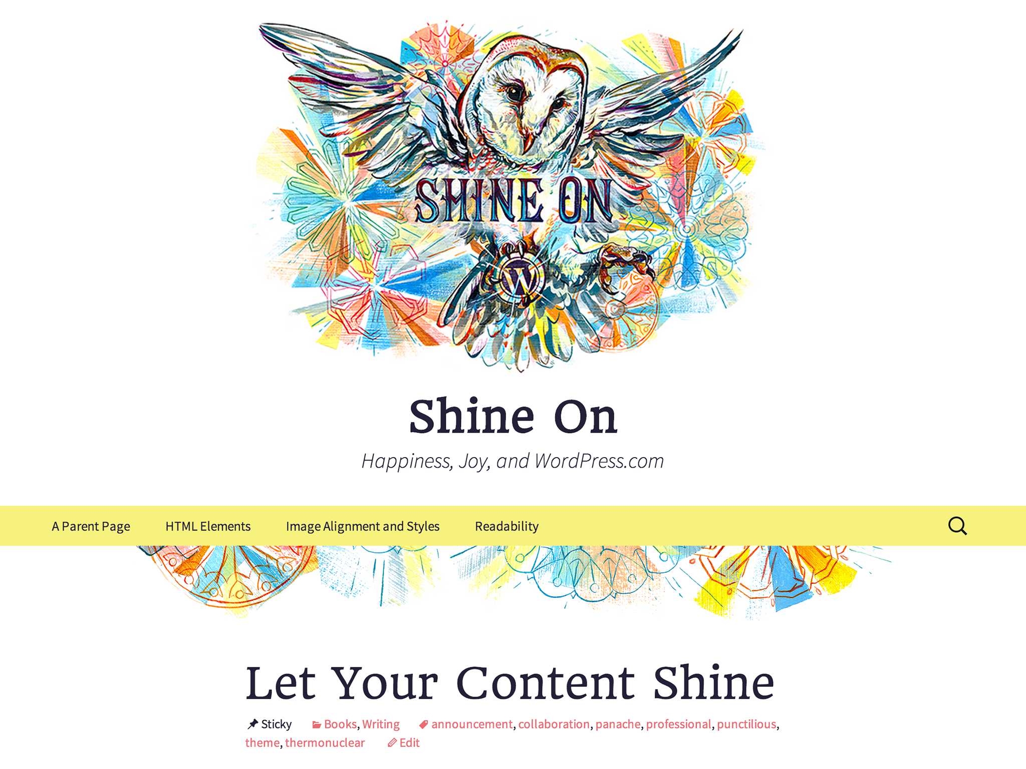 shine on by Michael Rubini | ReUnion News