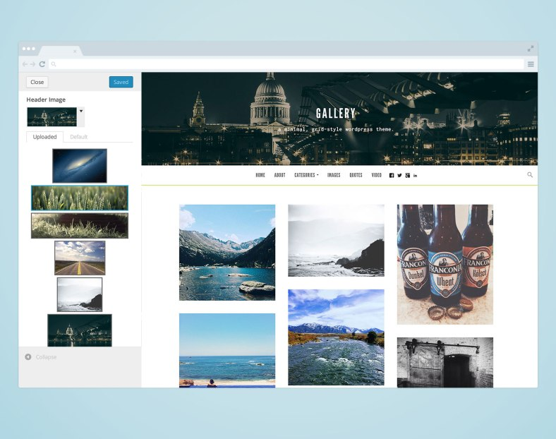 gallery-theme-customizable-header