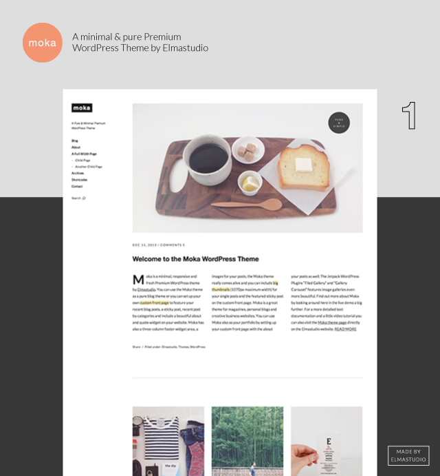 Moka Theme Featured Image
