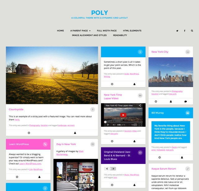 Poly: Homepage