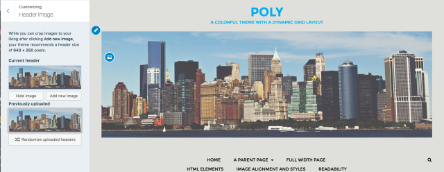 Poly with custom header set