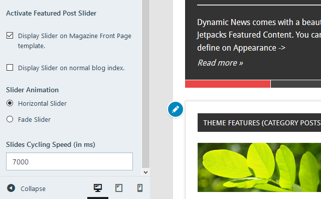 dynamic-news-slider-settings