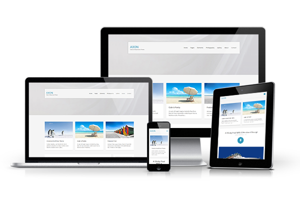 Axon Responsive WordPress Theme