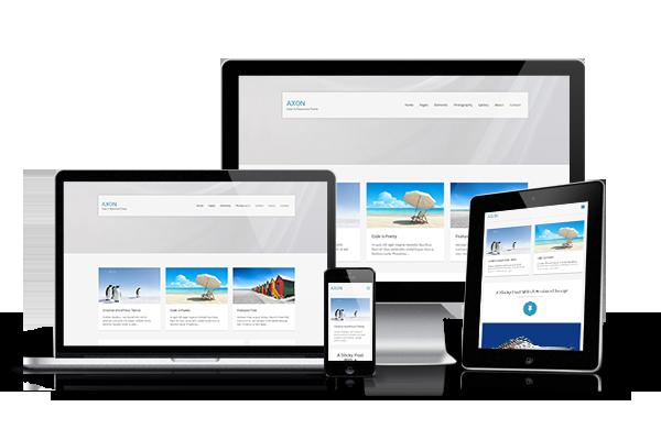 Axon Responsive WordPress Theme