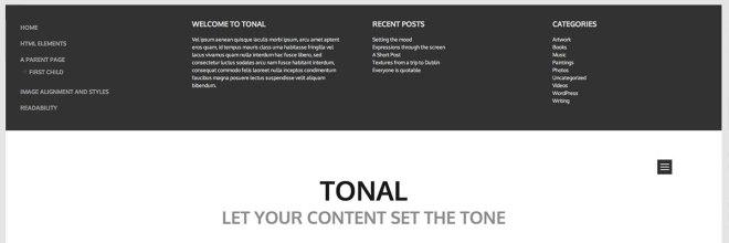 tonal-menu