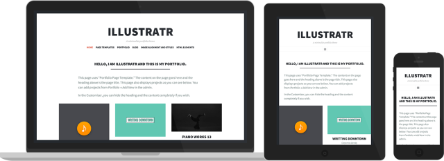 Illustratr: Responsive design