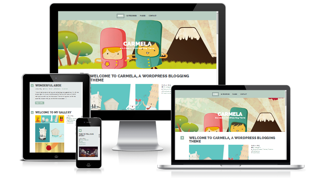 Carmela responsive design