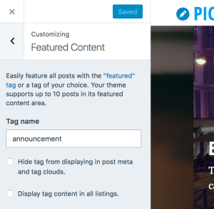 Pictorico theme wordpress featured images fandeluxe Images