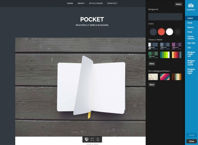 pocket-customize
