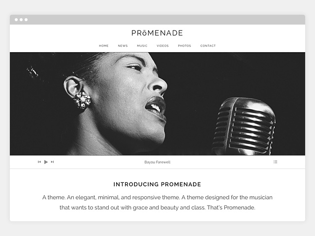 Promenade: Featured Image