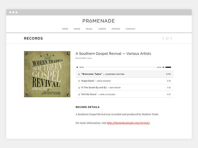 Promenade: Single Record