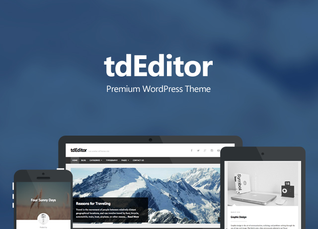 tdEditor Banner