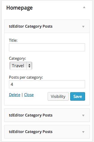 tdeditor_homepage_custom_widget