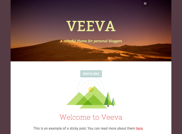 Veeva: Custom header and, background