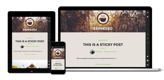 Espresso's Responsive Design