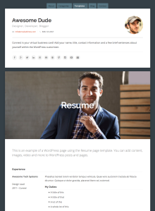 Connect Resume