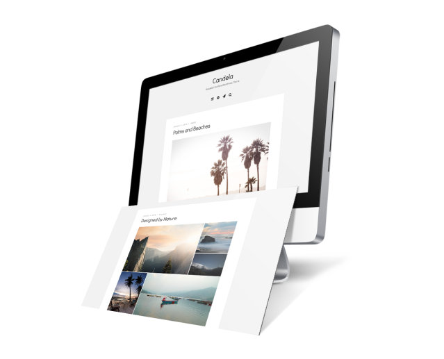 Candela Blog WordPress Theme