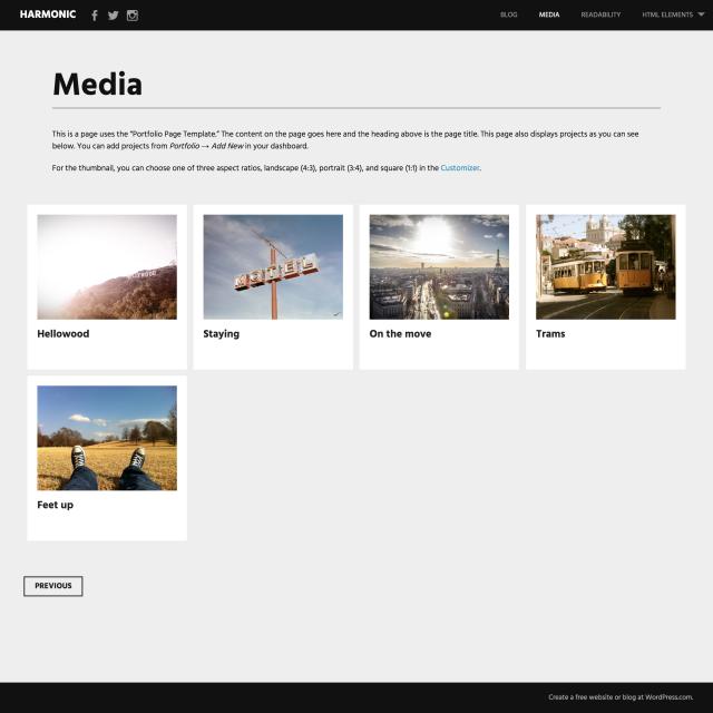 harmnonic-portfolio-page
