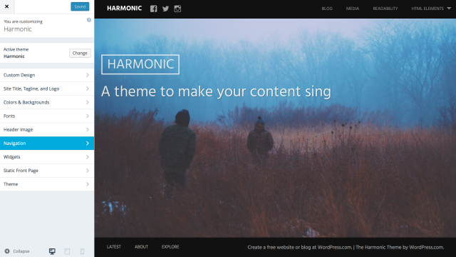 harmonic-customizer