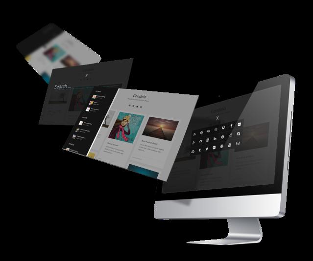 Offcanvas Menu Candela WordPress Theme