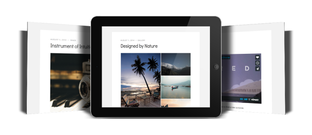 Candela Post Formats WordPress Theme