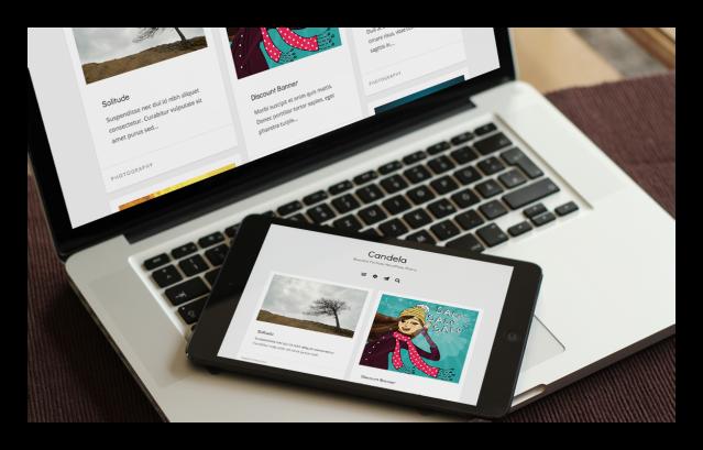 Candela Responsive WordPress Theme