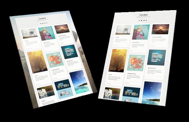 Theme Layout Candela WordPress Theme