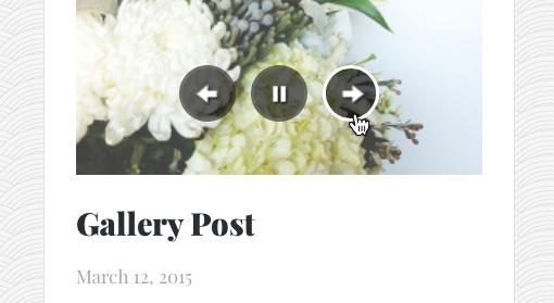 Gallery Post Widget in Curator
