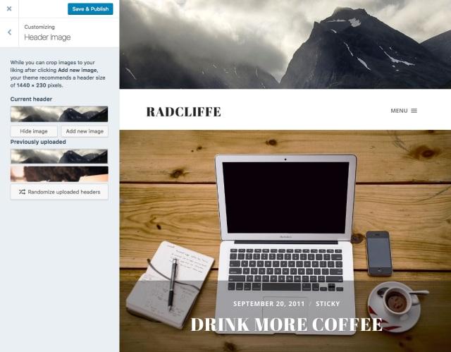 header image Radcliffe