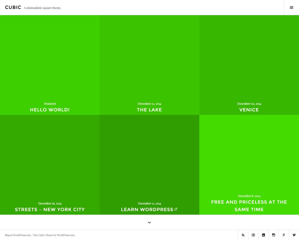 White And Acid Green Wordpress Themes At Wordpress Com