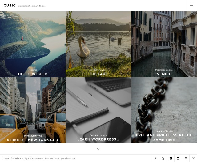 Add a dark filter to featured images.