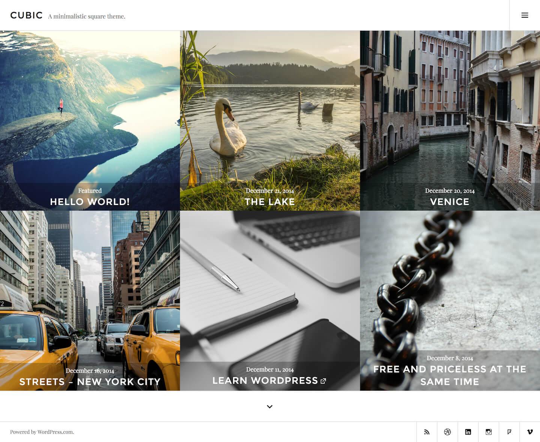 إنشاء موقع معرض الصور الخاص بك