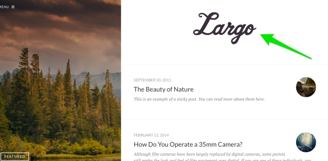 Largo Header image
